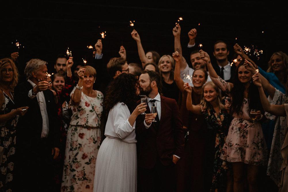 bröllopsberättelse Sisters in Law