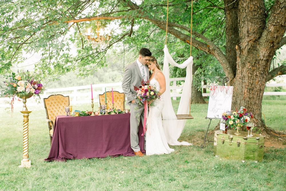 bröllop+bohemisk+dukning