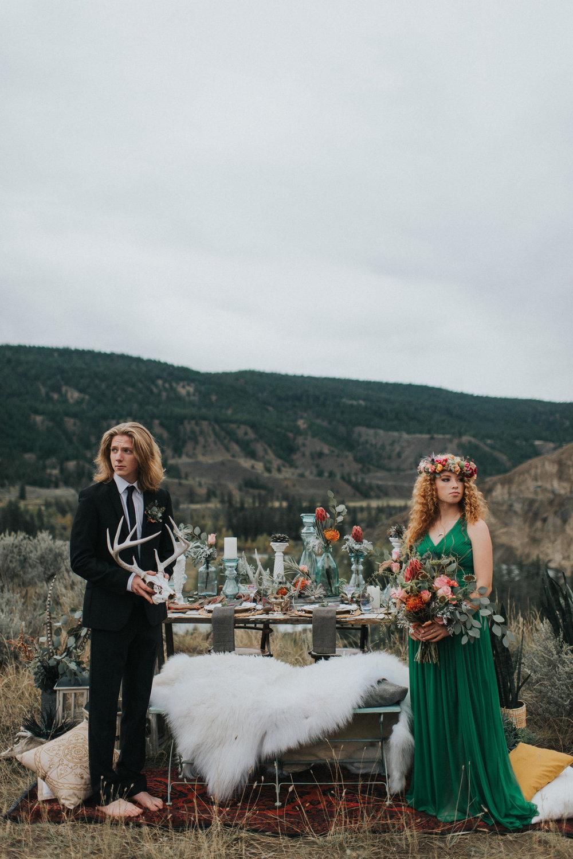 bröllop+boho+öknen+dukning