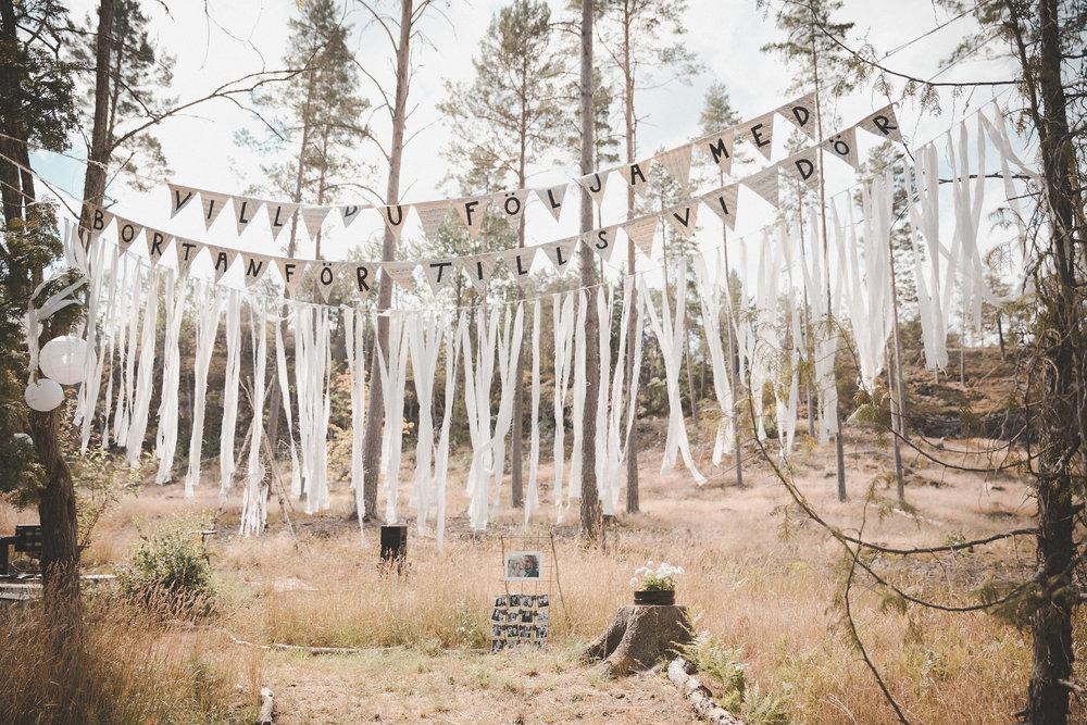 lantligt och bohemiskt bröllop