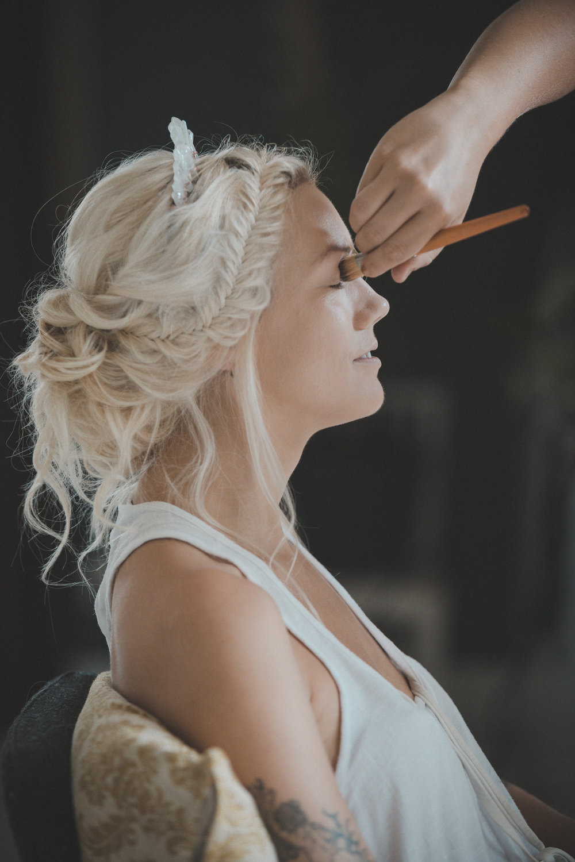 makeup bröllop