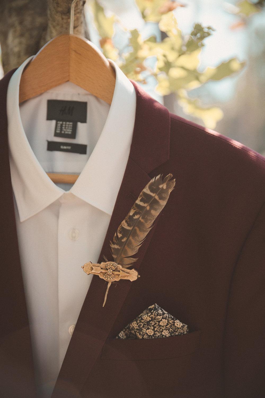 fluga bröllop kostym
