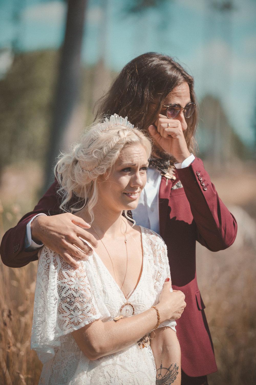 utomhusceremoni bröllop