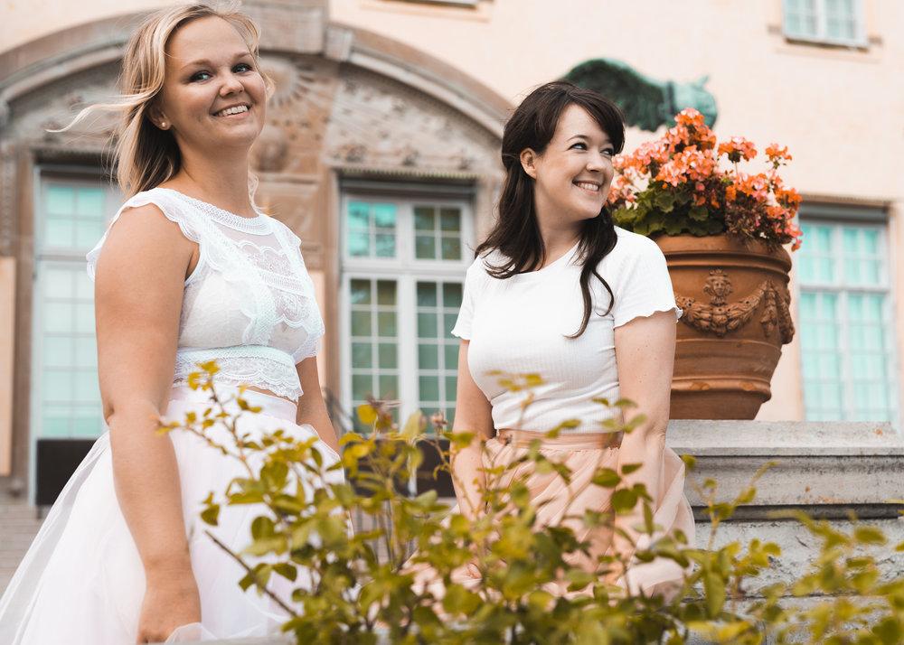 Fotograf: Emil Engwall - Kristina Grahn till vänster, Zanna Metzer till höger.