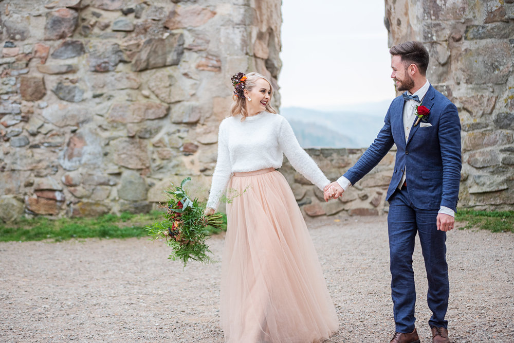 Bridal skirt + tulle skirt