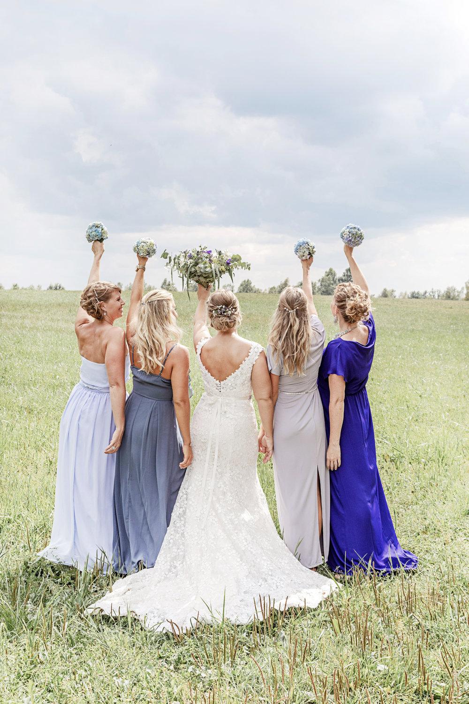 Bröllopstema+Hav+Lavendel+Blått