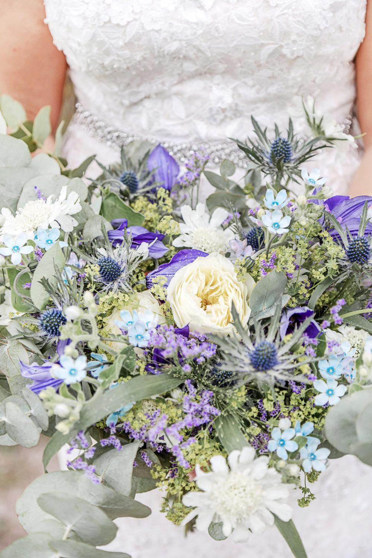 Brudbukett+Sommarbröllop