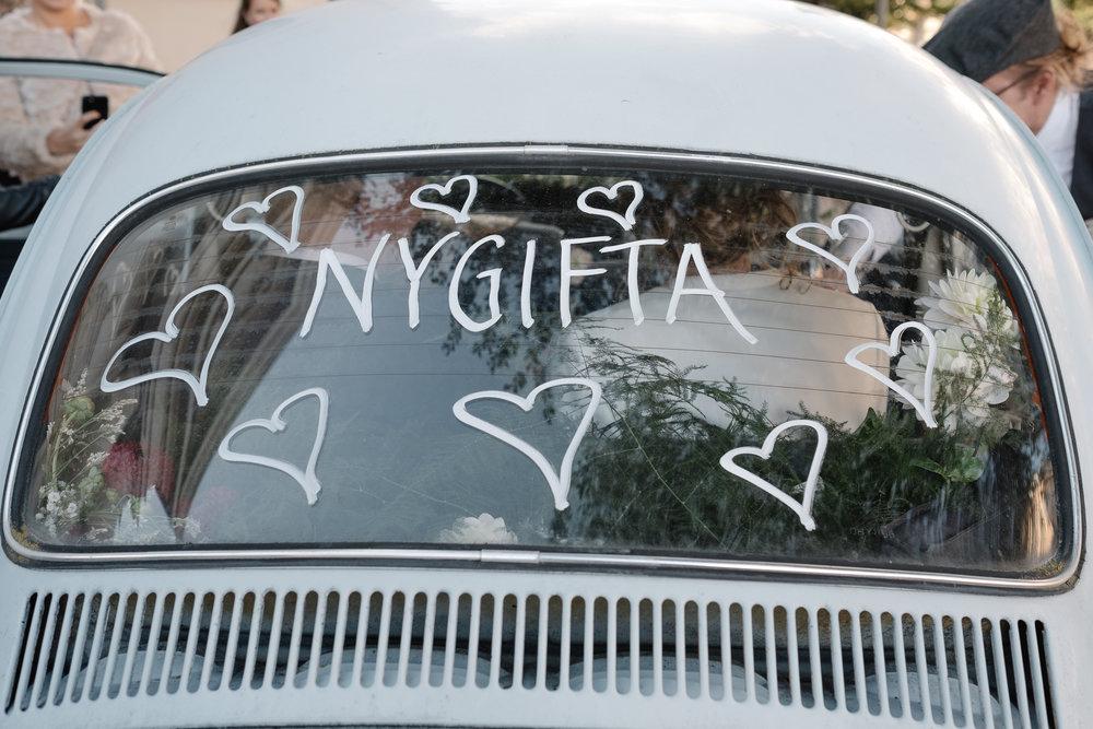 Nygifta bil