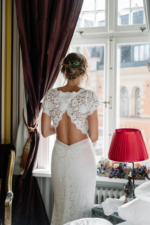 Brudklänning Zetterberg