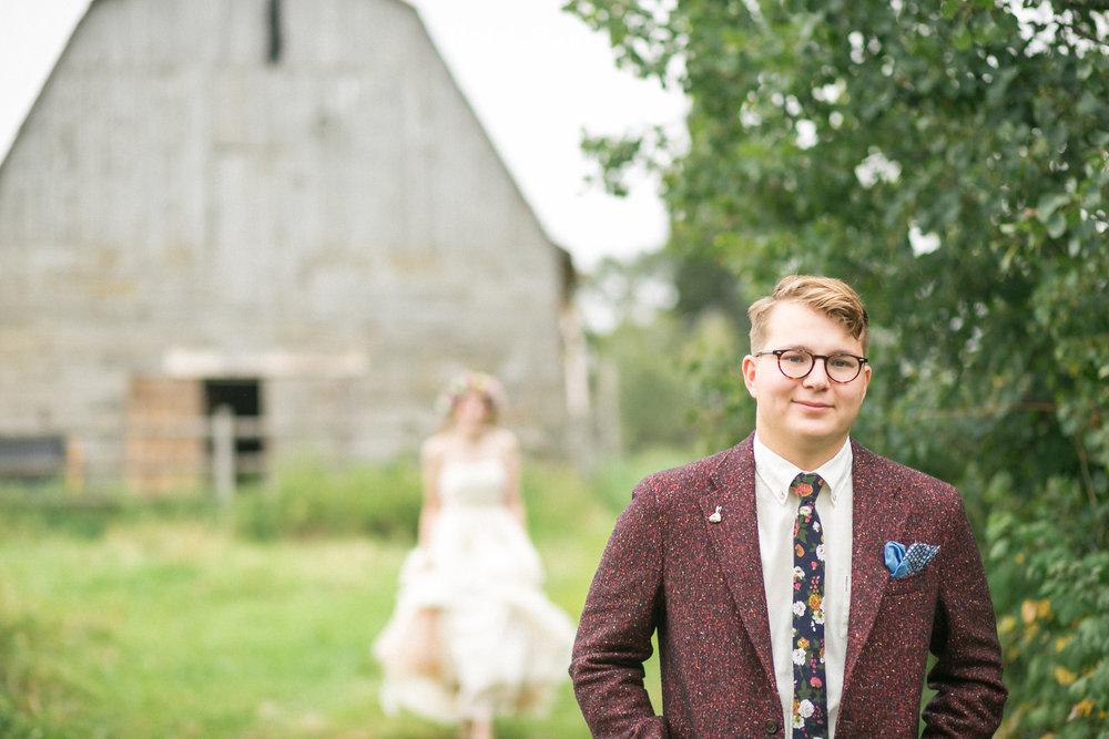 rustikt bröllop+lantligt bröllop+DIY+first look