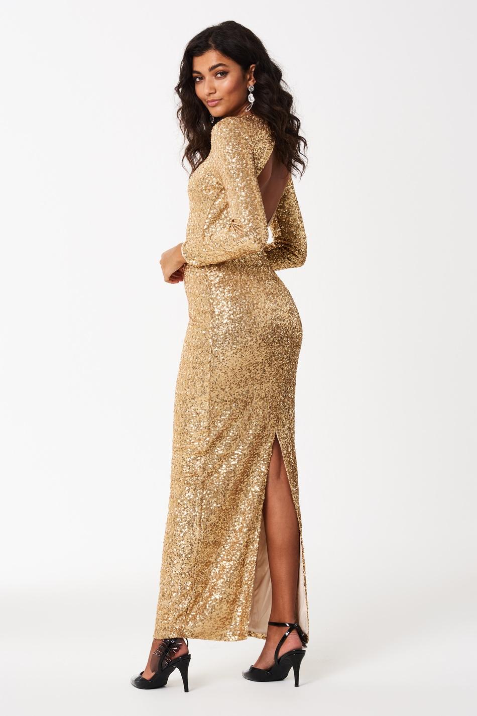 Glitterklänning , Gina Tricot