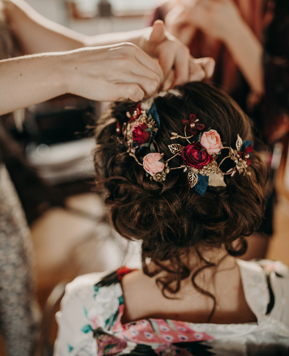 Hårsmycke+bröllop