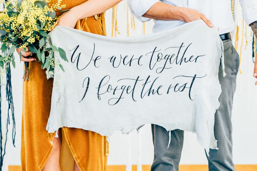 kalligrafi bröllop