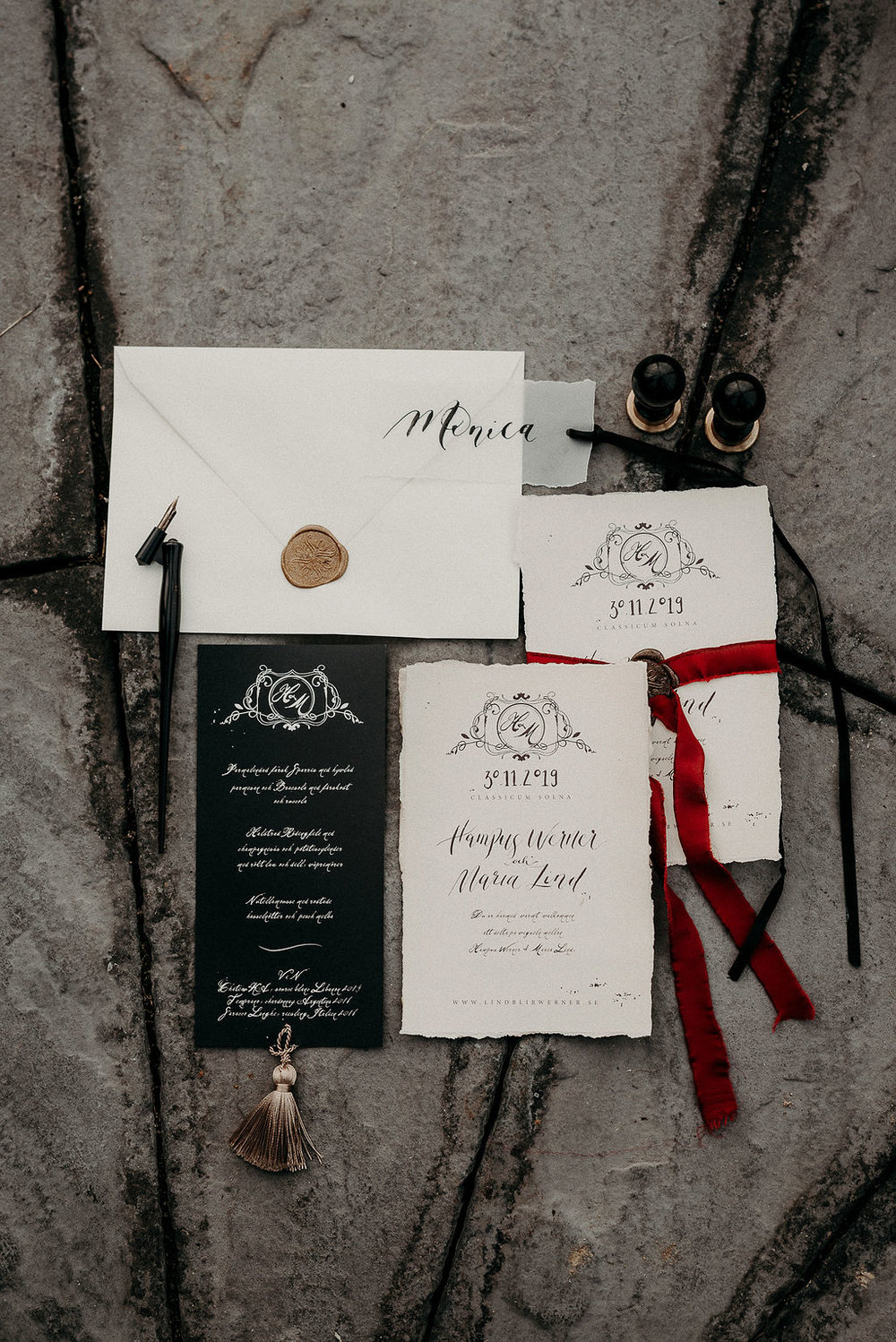 Wedding stationary + invitations