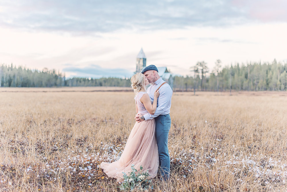 tyllkjol + bröllop