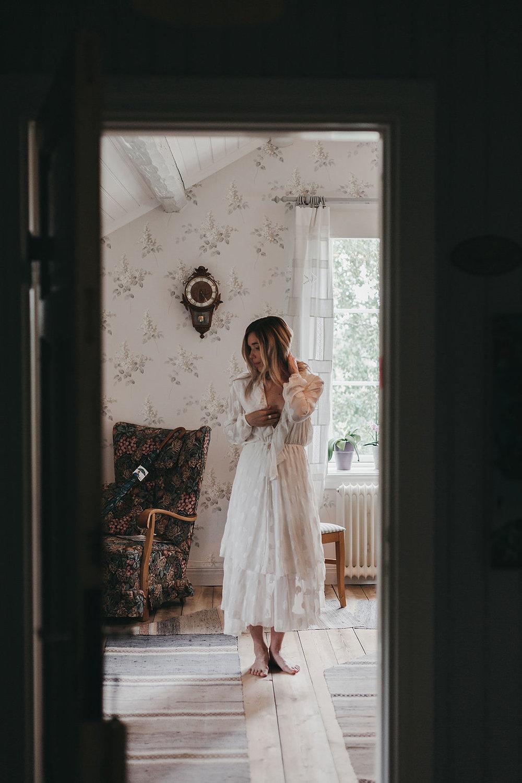 Brudklänning second hand Umeå