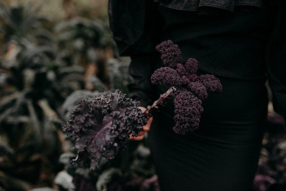Fashion photography nature