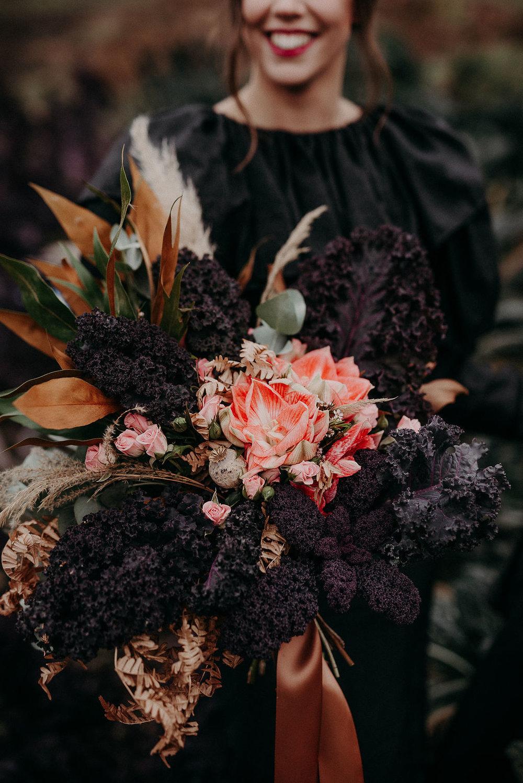 Bridal bouquet unique