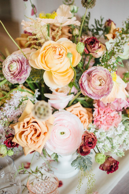 bröllop+vintage+boho+blomster