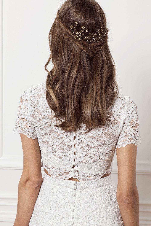 Lace top , By Malina