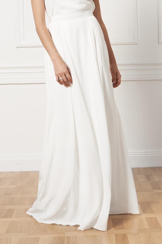 Bridal skirt , By Malina