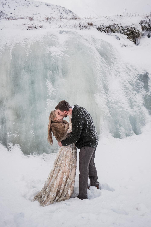 utomhusceremoni bröllopslöften