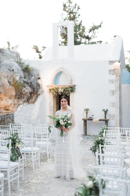 Bohemisk brudklänning