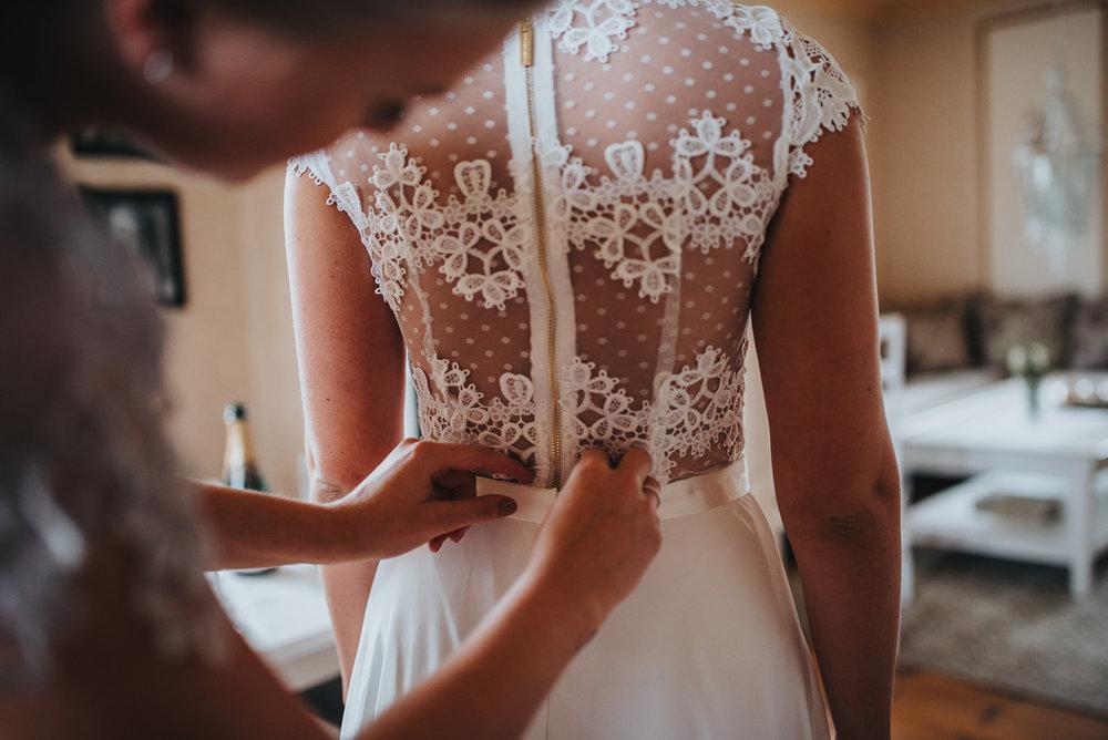 Brudklädsel bröllop