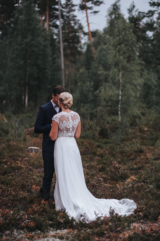 Skogsbröllop i Dalarna