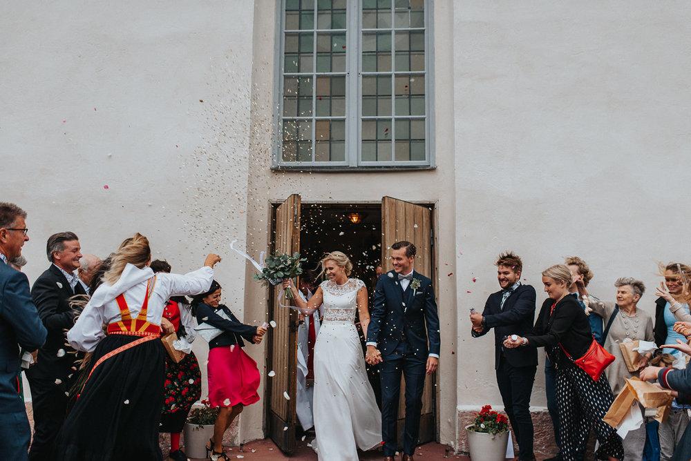Church Wedding Sweden Scandinavia
