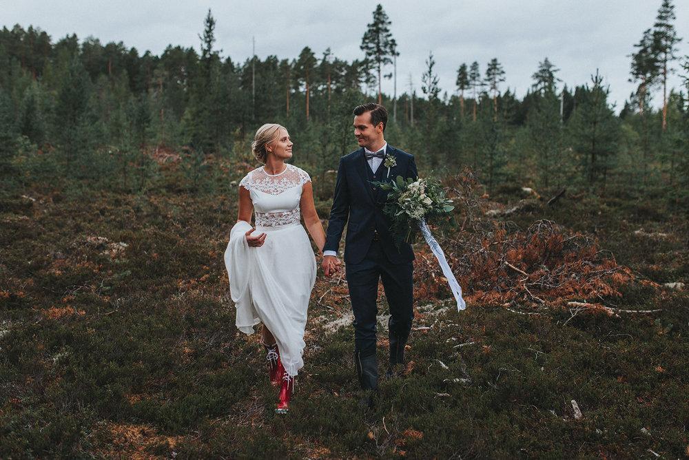 Forest Wedding Sweden Scandinavia