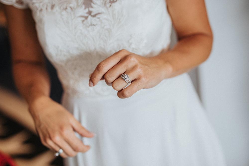 Bröllop vigselring