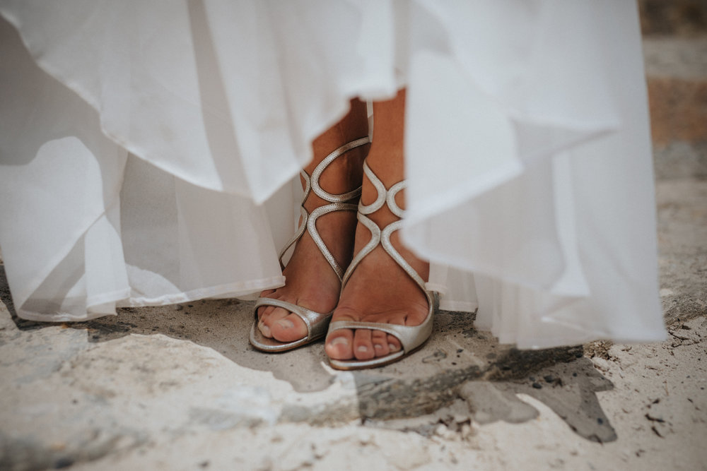 Bridal shoes Jimmy Choo