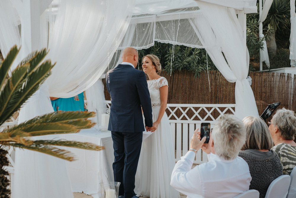 Destinationsbröllop Mallorca Vigsel Ceremoni
