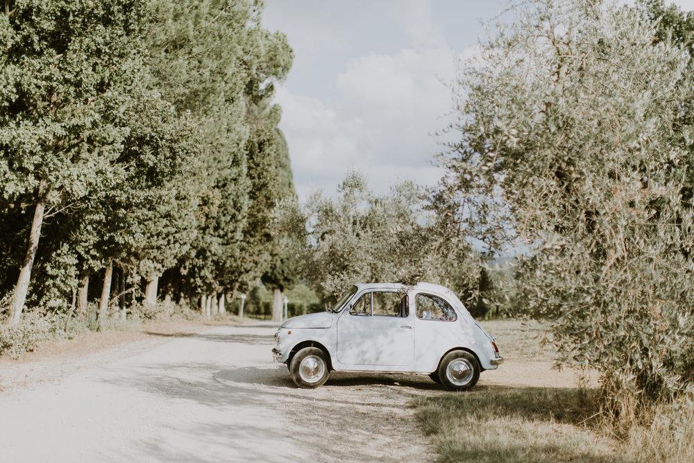 Italiens bil bröllop