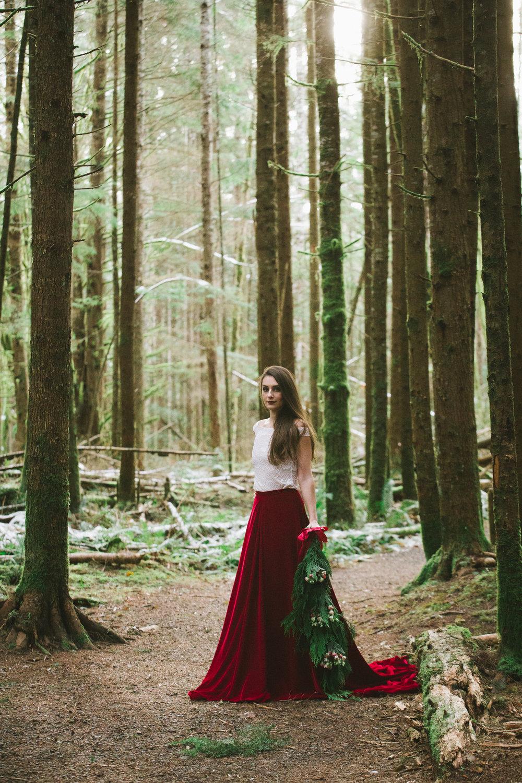 Vinterbröllop skogsbröllop