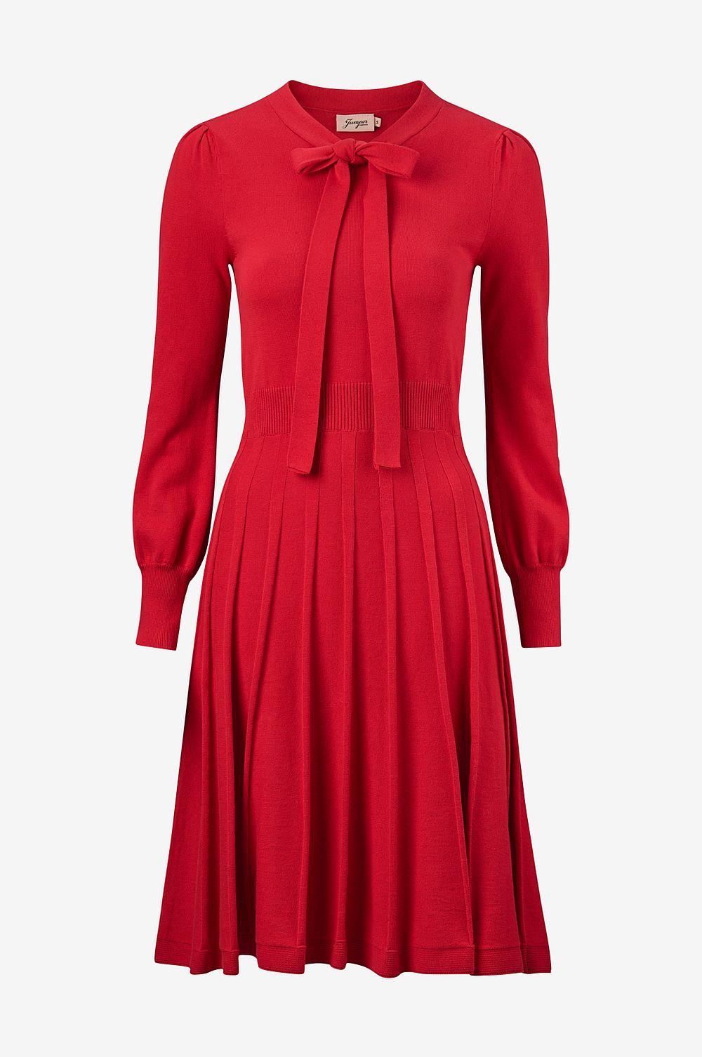 Red dress , Ellos
