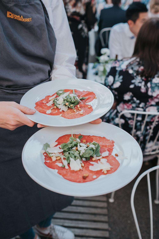 mat bröllop