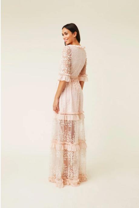 Rosa klänning , By Malina