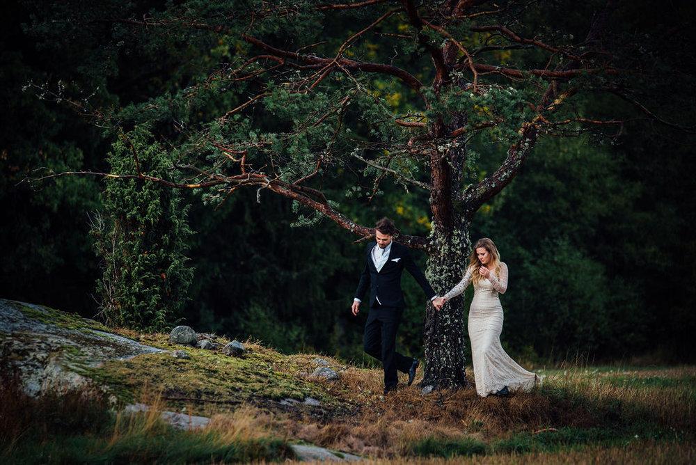 LINNÉA WALDETOFT - Bröllopsfotograf i Ljungskile
