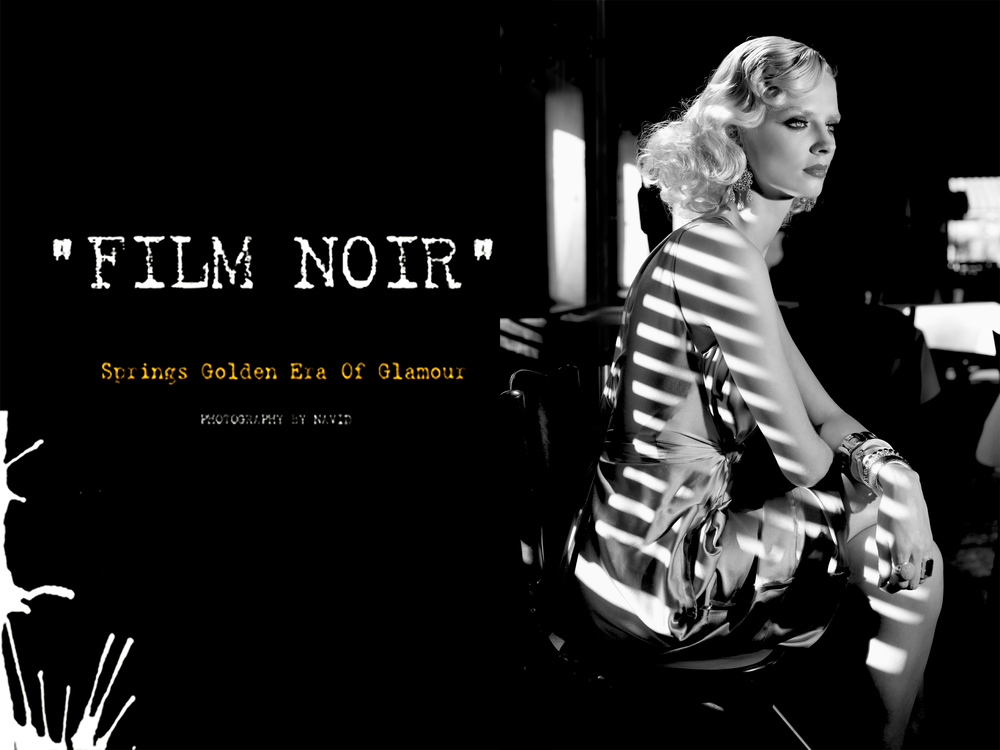 Film Noir Photography By Navid