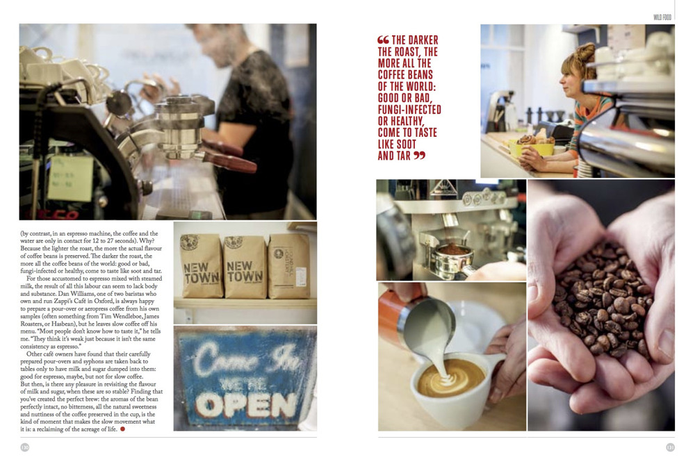 An extract from the recent @ ernestjournal  printed edition, the fine art of coffee making..