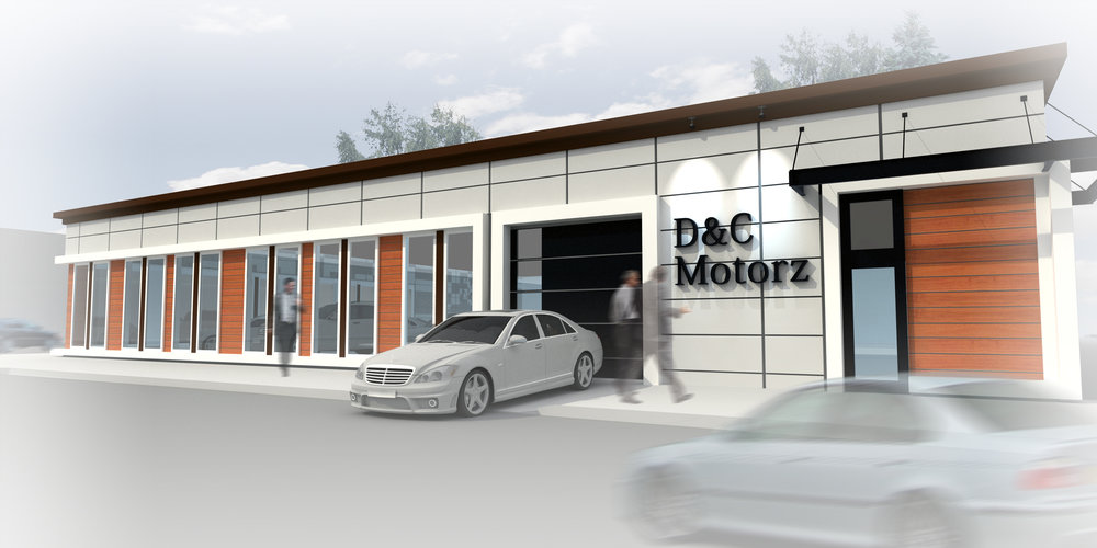 D&C Motors New Indoor Showroom