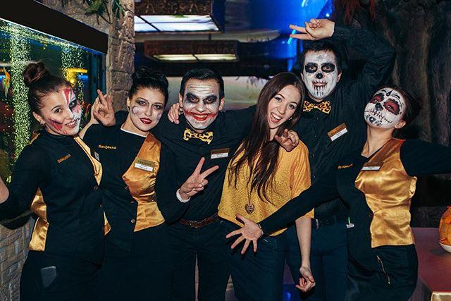 Спасибо всем, кто посетил нас! #amazonkarest #restaurant #halloween #хэллоуин #хэллуин #хэллоуин2015 #екатеринбург #екат #екб #ресторан #рестораннасвадьбу