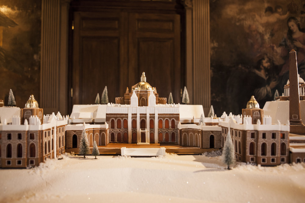 Castle Howard in gingerbread