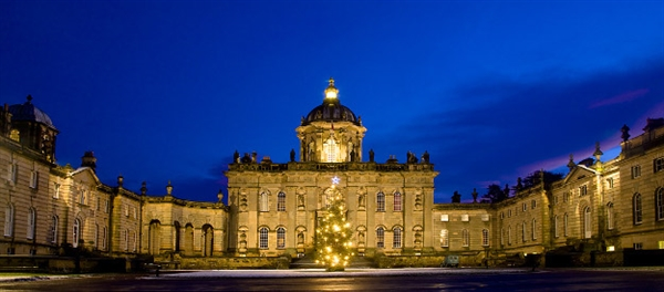 Castle Howard at Christmas. (photo by Castle Howard)