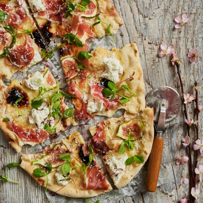Zizzi's Prosciutto Fresca Rustica Pizza