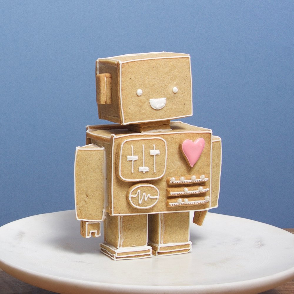 Gingerbread Robot of Love