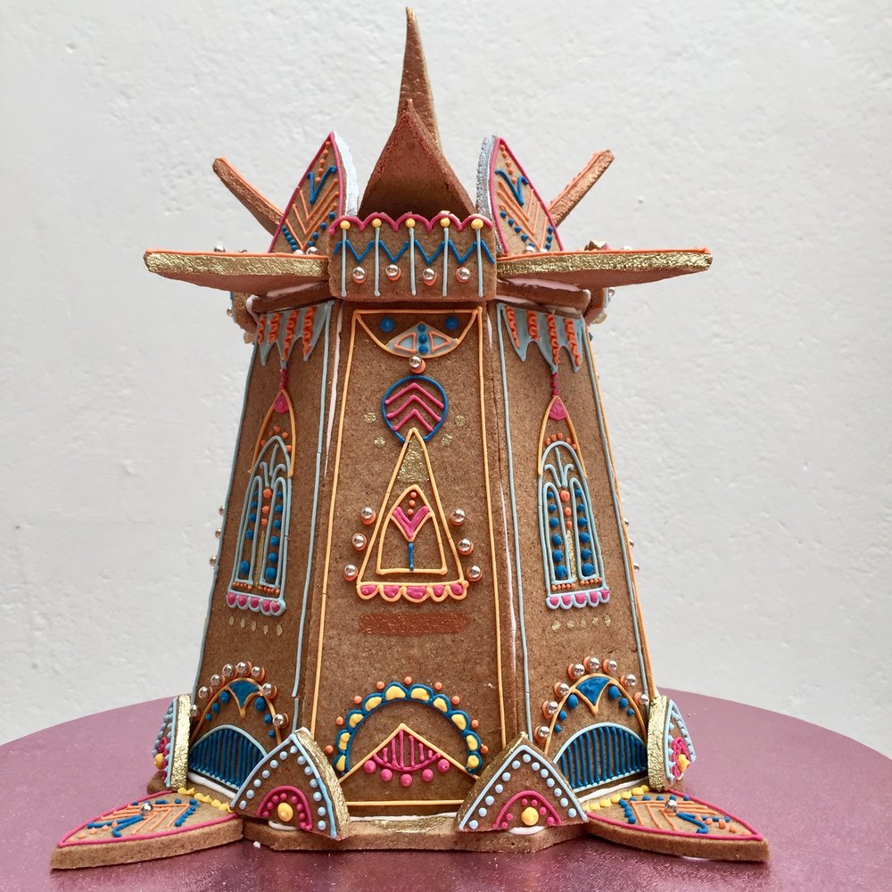 The Temple of Gingerbread