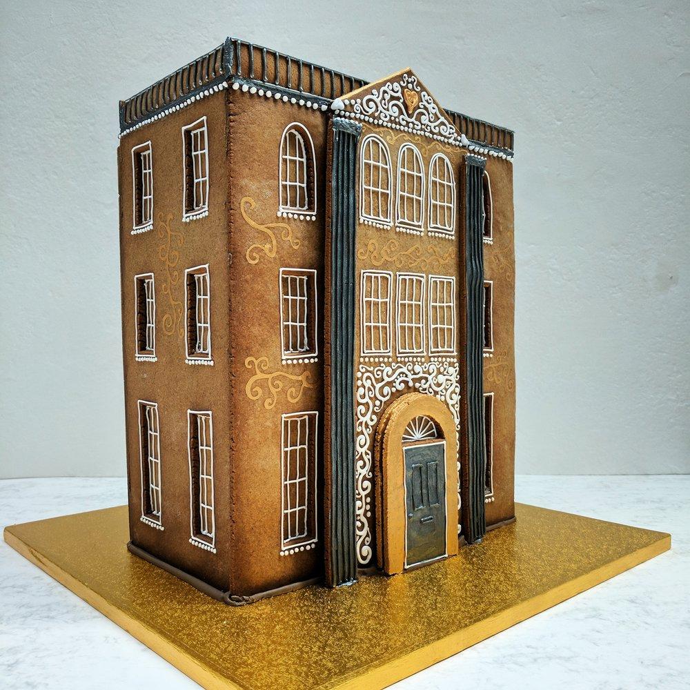 Gingerbread Georgian Town House